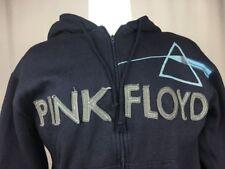 Pink Floyd Navy Embroidered Rockware Prism Hoodie Zip Sweatshirt M Medium