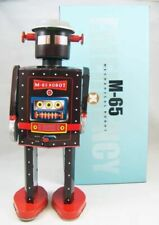 Robot - Robot Marcheur Mécanique en Tôle - M-65 Robot Emergency (St.John Tin Toy