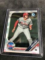 2019 BOWMAN CHROME ALEC BOHM ROOKIE OF THE YEAR CANDIDATE BDC-162 PHILLIES
