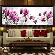5D DIY Flower Butterfly Embroidery Diamond Painting Cross Stitch Kit Home Decor