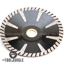 5 Inch Diamond Turbo Convex Sink Cutter Blade Wet/DRY Granite Stone Concrete