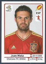 PANINI EURO 2012- #301-ESPANA-SPAIN-CHELSEA-JUAN MATA