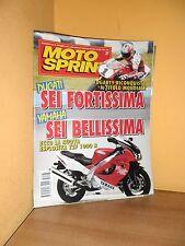MotoSprint - n° 37 - 13/19 Settembre 1995 - Yamaha YZF 1000 R - Rivista ottima
