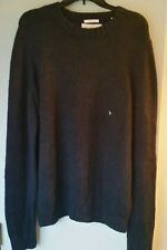 NWT Abercrombie & Fitch Mens Macintyre Bridge Blue Pullover Sweater - XXL