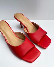 FREYA ESTEPHAN High Heels Mules Sandalen Bottega Veneta 36 37 38 39 40 41rot