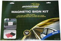 Magnetic Company Business Name Logo Car Van Sign Making Kit