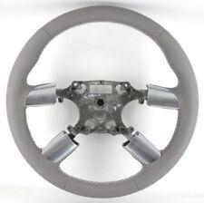 Ford Focus MK2 grey new leather steering wheel. Genuine, retrimmed.     2B