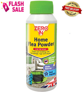 Zero In 300 g Home Flea Powder Killer Treatment for Carpets and Rugs In The Home