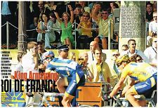 Coupure de presse Clipping 2004 (4 pages) Lance Armstrong