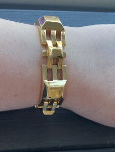 Stella & Dot Gold Plated Luxor Link Bracelet