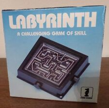 New Vintage Labyrinth Game 1985 A Challenging Game of Skill  Item No. L-60