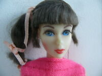 VINTAGE MATTEL BARBIE 1962 MIDGE MOD DOLL TWIST N TURN EYELASHES ORIGINAL