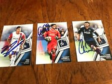 San Jose Earthquakes 2018 Signed Topps Mls Team Set cards from Current Roster