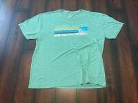 Blue 84 Bass River Resort MO T Shirt Mens Sz XL Tri-Blend Tee Green Soft Stretch