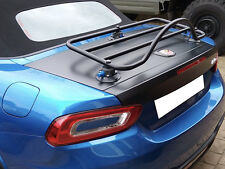 Fiat 124 Spider Abarth Luggage Boot Rack ; No Clamps No Brackets No Damage