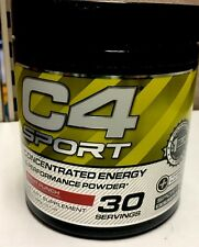 Cellucor C4 Sport Concentrated Energy Fruit Punch 30 Servings New