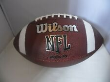 WILSON NFL AMERICAN FOOTBALL OFFICIAL TDS PATTERN OFFICIAL SIZE.