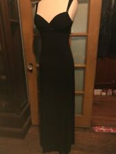 Stunning Evening Dress Mother Of The Bride Black Color Size 6