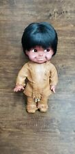 Plastic Native American Indian Doll