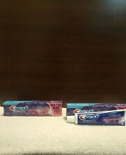 Two Crest 3D White Radiant Mint Whitening Toothpaste With 3 Benefits In 1