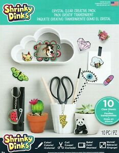 Shrinky Dinks - Crystal Clear Creative Pack (10 Sheets) *2020 Packaging