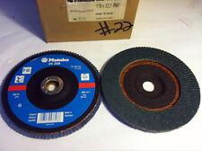 "METABO ABRASIVE INC, 7"" X 7/8"" P60 GRIT,  ZIRCONIA FLAP DISCS EDP #24358"