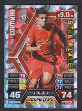 Match Attax 2013/14 - Star Player - 157 Phillippe Coutinho - Liverpool