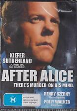 AFTER ALICE - KIEFER SUTHERLAND - HENRY CZERNY - POLLY WALKER - DVD - NEW