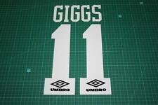 Manchester United 92/96 #11 GIGGS HomeKit Nameset Printing