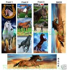 3 Set-HORSE BOOKMARK Ponies Pinto I LOVE Horses Mini ART Card Book Mark Figurine