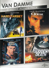 VAN DAMME 4-MOVIE ACTION PACK (HARD TARGET / STREET FIGHTER / THE QUEST /  (DVD)