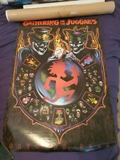 ICP The Gathering Of The Juggalos 2000 Poster insane clown posse twiztid abk