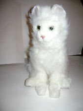 FurReal Friends 2006 Sitting Lulu Persian Kitty Cat Blue Eyes Moving Interactive