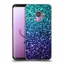 Glitter Case For Galaxy A71 A51 S20 Ulta Plus Note10 Sparkle Hard Back Aqua Blue