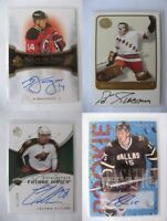 2008-09 SP Authentic #199 Gillies Colton 877/999 future watch RC auto