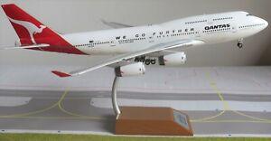 Inflight IF747QFAWGF01 Qantas Airways Boeing 747-400 VH-OJA Diecast 1/200 Model