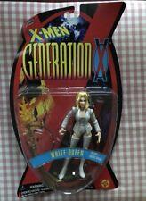 MARVEL TOYBIZ 1996 X-MEN GENERATION X WHITE QUEEN ACTION FIGURE MOC