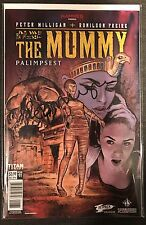 The Mummy #1 Forbidden Planet Jetpack Comics Exclusive Titan 2016 SIGNED NM RARE