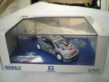 Norev 1/43 Peugeot 206 Wrc #10 Rally Australia 2000 1er Gronholm Rautiainen