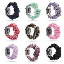 Soft Scrunchie Band For Apple Watch 38/40/42/44mm Series 5 Soft Pattern Bracelet