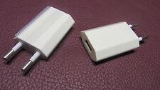 2x USB Ladestecker 230V/ Ladeteil /Adapter 230-5V / Handy / Universal/ 5V-1000mA