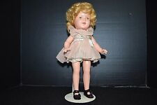 1930's Shirley Temple Composition Doll