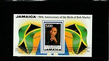 a91 - JAMAICA - SGMS882 MNH 1995 50th BIRTH ANNIV BOB MARLEY