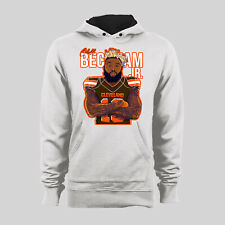 ODELL BECKHAM JR CLEVELAND CARTOON PARODY HOODIE *CUSTOM ART* *OPTIONS*