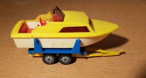 SIKU alter Bootsanhänger für alte Spielzeugautos Modellautos