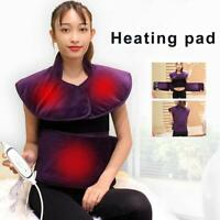 Electric Heating Pad Neck Shoulder and Back Heating Wrap Back Pain Relief with
