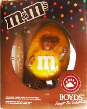 M & M Mars Boyds - Collectible Resin Figurine - YELLOW Peeker 2005 - New