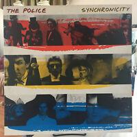 The Police - Synchronicity LP A&M SP-3735 Masterdisk Translucent Purple Vinyl EX