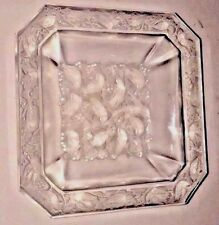 LALIQUE Crystal Anna Small Dish or Ash Tray Clear  Original Owner  RARE