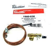 OEM Robertshaw 1980-036 36In Gas Valve Pilot Thermocouple